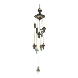 Byzantine Cross Wind Chime For Sale