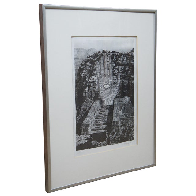 American To Rene Magritte: Forbidden Realm 1994 Jud Yalkut Photoprint For Sale - Image 3 of 13