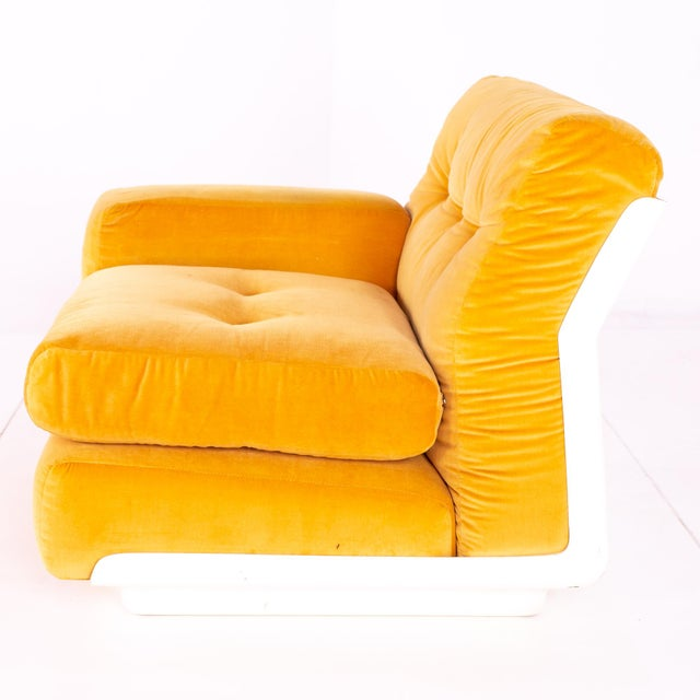 Jack Cartwright for Founders Mid Century Sectional Fiberglass Sofa For Sale - Image 11 of 13