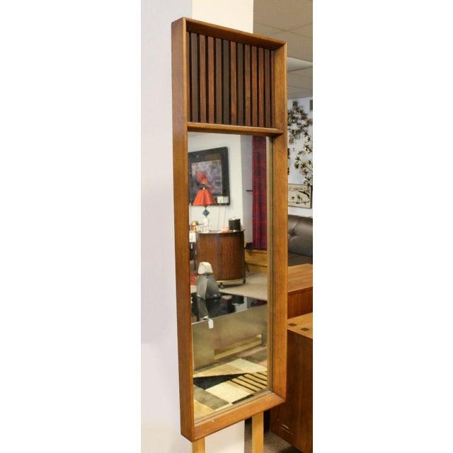 Wood Mid Century Modern Lane Rosewood Bedroom Set Dresser Headboard Cabinet - Set of 6 For Sale - Image 7 of 13