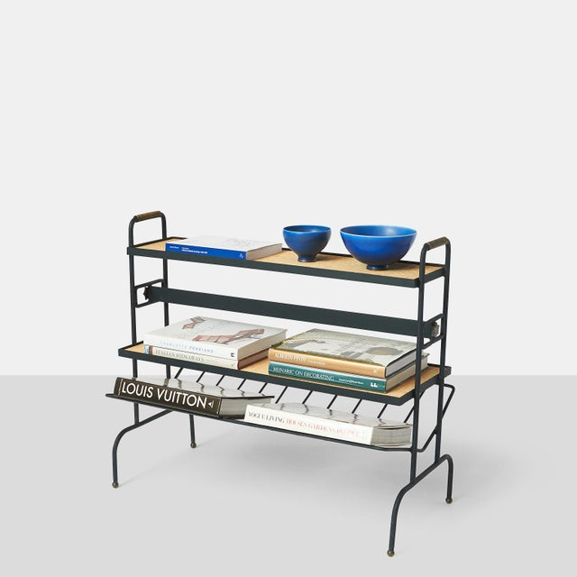 1960s Bookstand by Jacques Adnet For Sale - Image 5 of 9