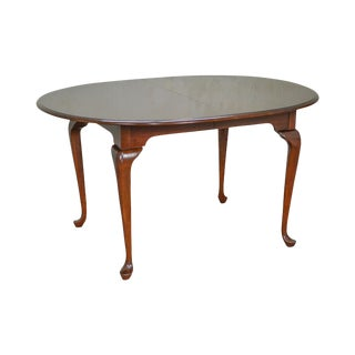 Pennsylvania House Solid Cherry Traditional Queen Anne Style Dining Table