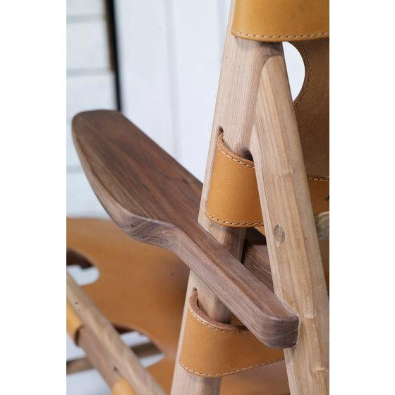 Wood Borge Mogensen Inspired Hunting Chairs - a Pair For Sale - Image 7 of 9