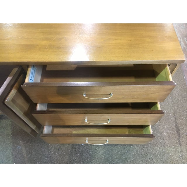 Mid Century Broyhill Premier Credenza Buffet For Sale - Image 9 of 10