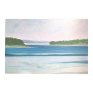 2016 Seascape Painting by Daphne Chapin For Sale
