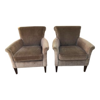 Modern Crate and Barrel Chairs- A Pair For Sale