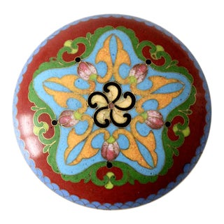Vintage Cloisonne Box For Sale
