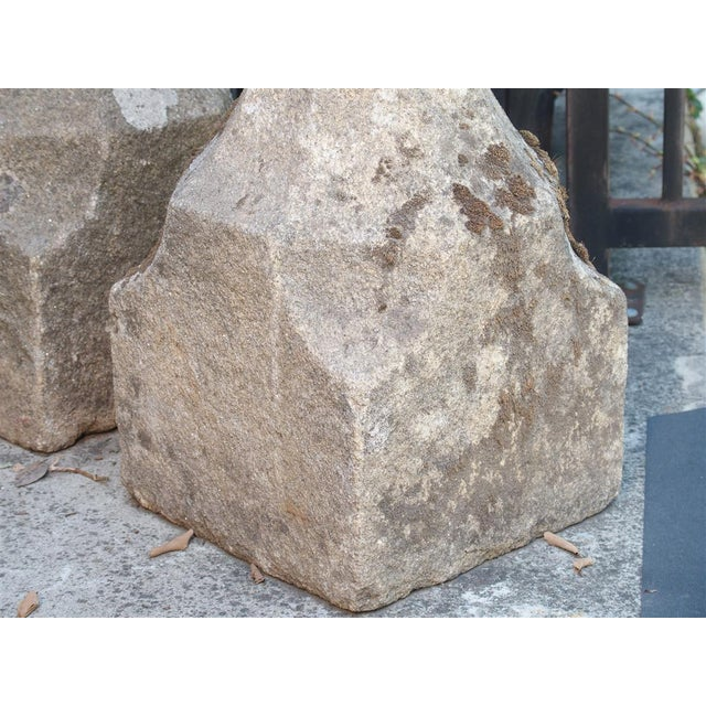 17th Century French Granite Garden Posts For Sale - Image 4 of 13