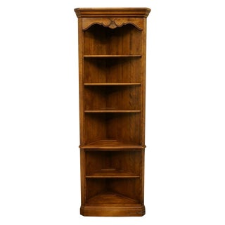 Ethan Allen Country French Collection Corner Bookcase