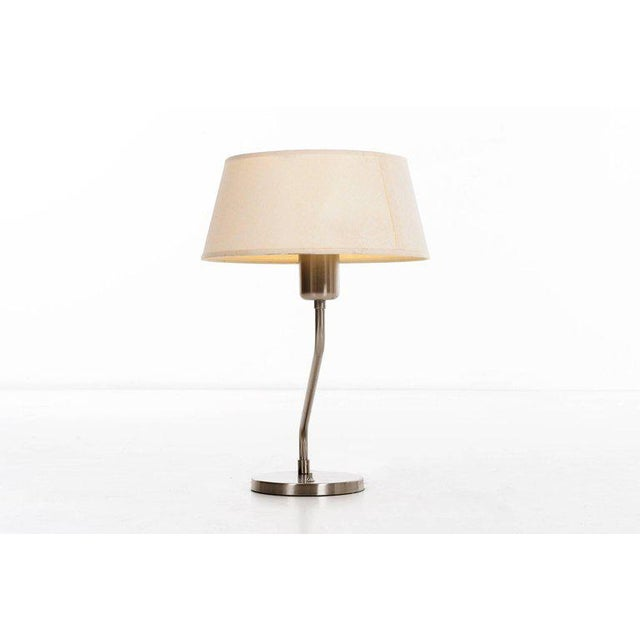 1960s Vintage 1960s Walter Von Nessen Table Lamp With Shade For Sale - Image 5 of 9