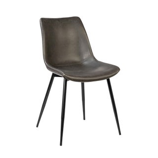 Alexander Grey Dining Chair For Sale