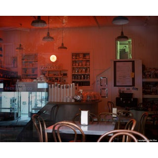 "Contemporary Night Photograph ""Farley's After Close"" by John Vias For Sale"