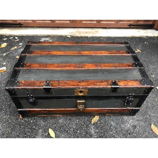 19th Century American Classical Customized Travel Trunk For Sale In New York - Image 6 of 12
