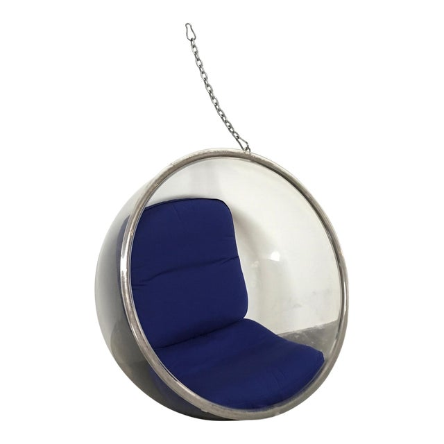 Eero Aarnio Plushpod Hanging Bubble Chair For Sale