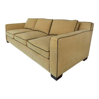 Ralph Lauren Graham Sofa with Down Cushions by Henredon Furniture For Sale