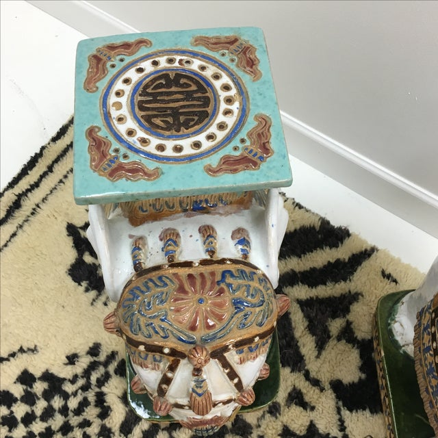 Vintage Elephant Garden Stools - A Pair For Sale In Nashville - Image 6 of 6