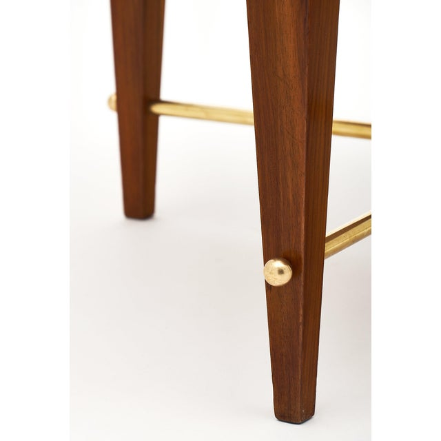 Art Deco Period Figured Walnut Gueridon Table For Sale - Image 9 of 10