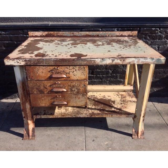 Industrial Desk - Image 2 of 7
