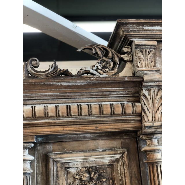 19th C. French Henri II Renaissance Revival Buffet & Hutch For Sale - Image 12 of 13