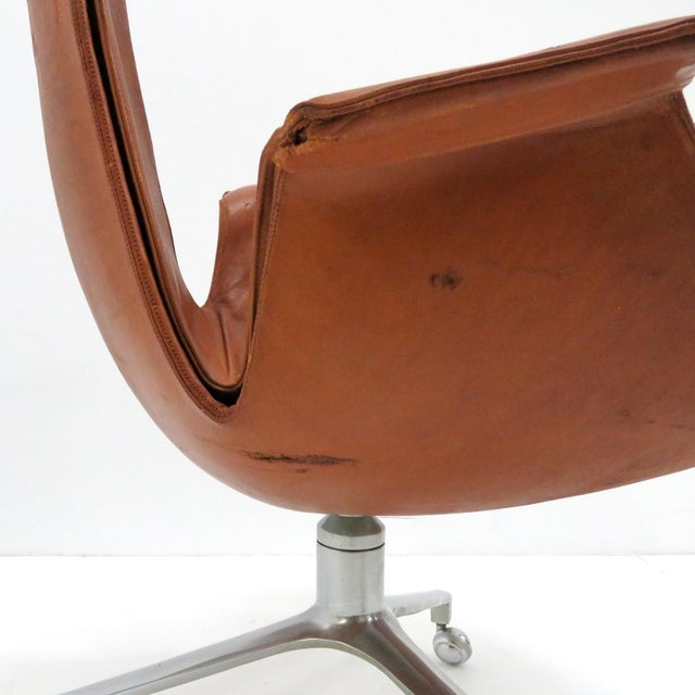 1960s Vintage Preben Fabricius Jorgen Kastholm Bird Chair For Sale - Image 10 of 12
