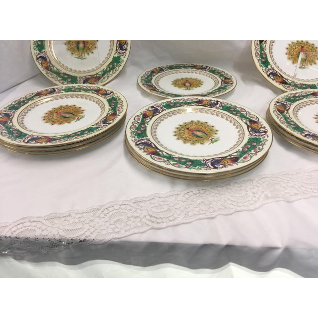 12 Amazing Vintage Wedgwood Plates, circa 1930 to 1950, All in Excellent condition, no chips , cracks, knife marks, etc....