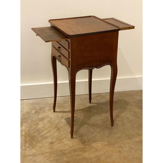 French Provincial Table With Mirror For Sale In Dallas - Image 6 of 11