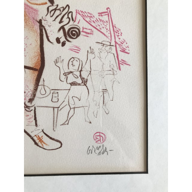 Harkening back to his Jewish roots, William Gropper published in 1970 a series of twenty-four color lithographs on Jewish...