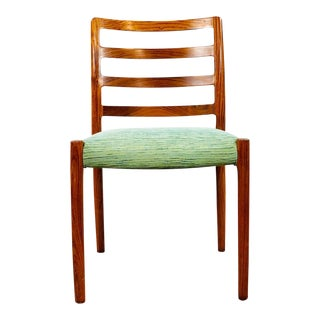 Mid Century Modern Rosewood Danish Dining Chair For Sale