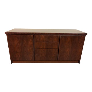 Christian Linneberg Danish Modern Rosewood Sideboard Credenza For Sale