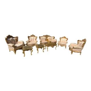 Italian Living Room Furniture Set by Silik For Sale
