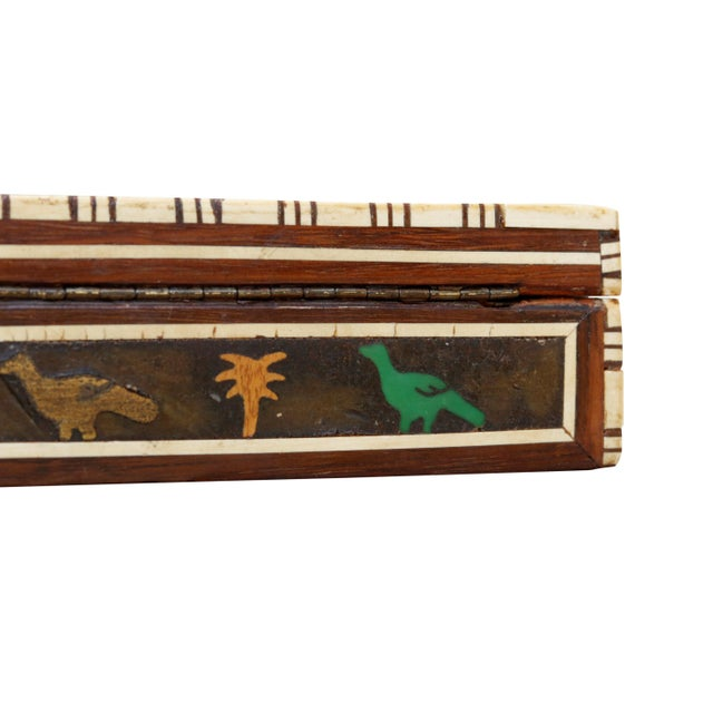 Decorative Inlaid Trinket Box For Sale In Boston - Image 6 of 7