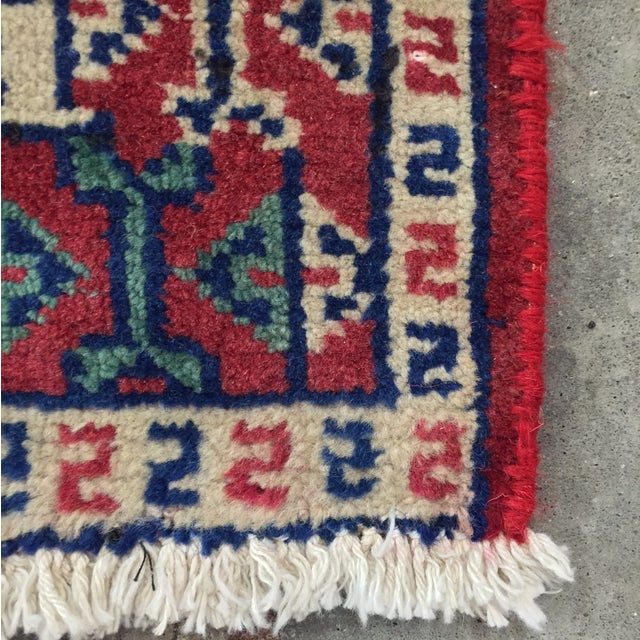 Turkaman Red Persian Rug - 2′2″ × 3′1″ - Image 8 of 8