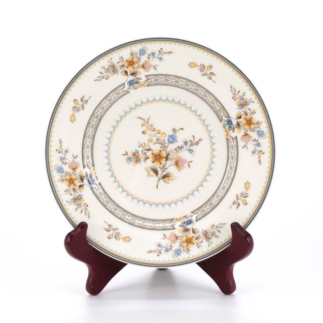 """English Vintage Mikasa Bone China in """"Chippendale"""" Pattern, Set of 32 For Sale - Image 3 of 8"""