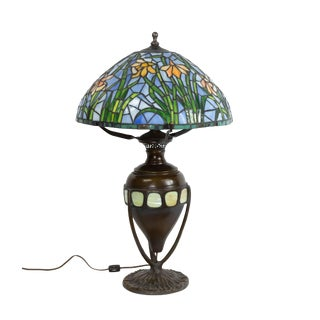 Early 20th Century American Victorian Tiffany Table Lamp For Sale