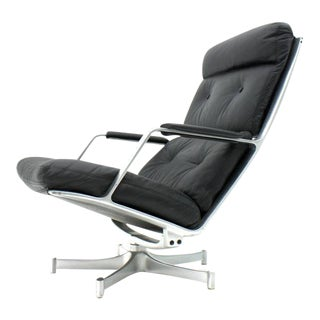 Lounge Chair by Fabricius & Kastholm for Kill International Fk 85 For Sale