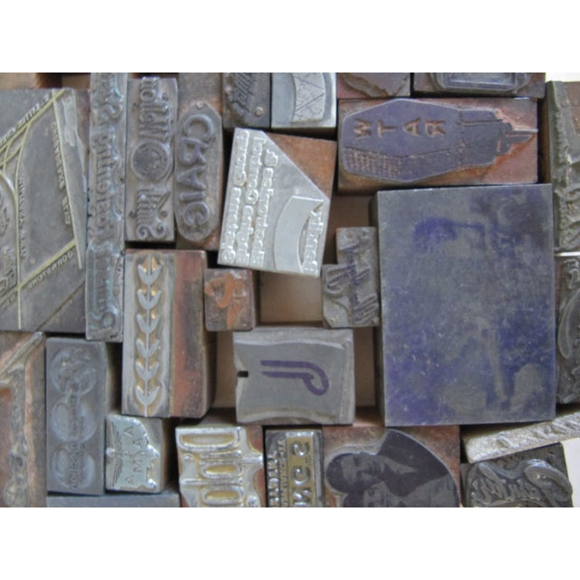 Vintage Letterpress Blocks - 116 Pieces - Image 6 of 6
