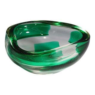 1940s Dino Martens for Aureliano Toso Coppa Pesante Glass Bowl For Sale