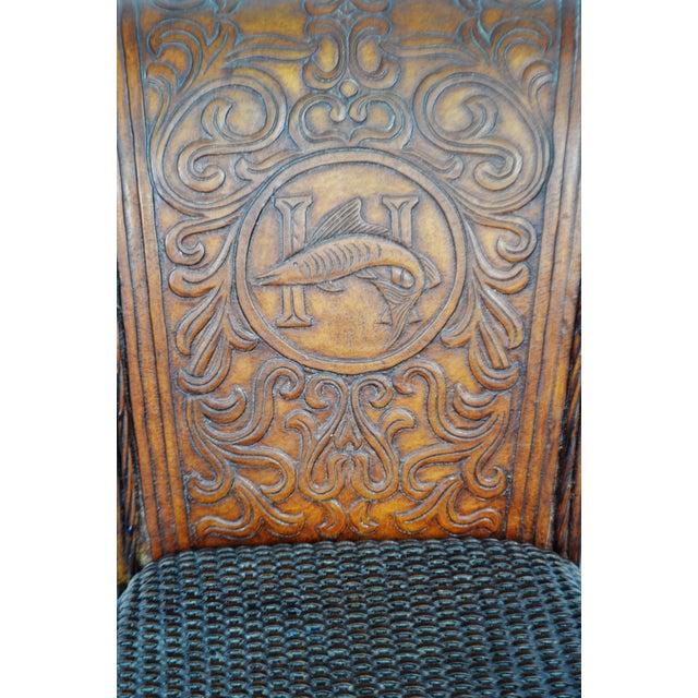 Vintage Thomasville Ernest Hemingway Desk & Chair Set For Sale - Image 10 of 10