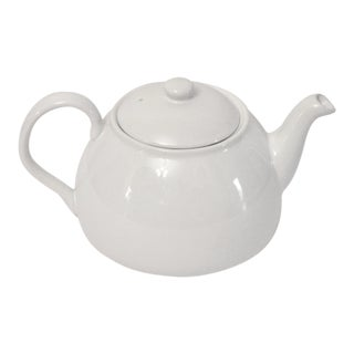 White Porcelain Tea Pot For Sale