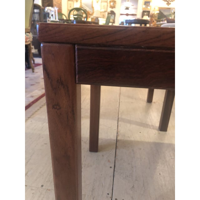 Mobelfabrick Danish Mid Century Modern Richly Grained End Tables - a Pair For Sale - Image 4 of 13