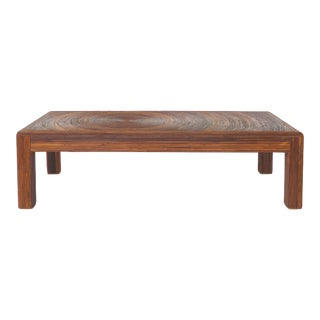 Mid-Century Modern Pencil Reed Coffee Table in the Style of Gabriella Crespi For Sale
