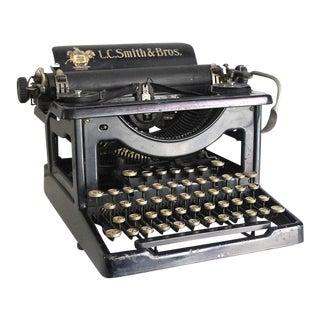 1905 Antique Lc Smith Manual Typewriter