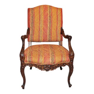 Bold French Armchair