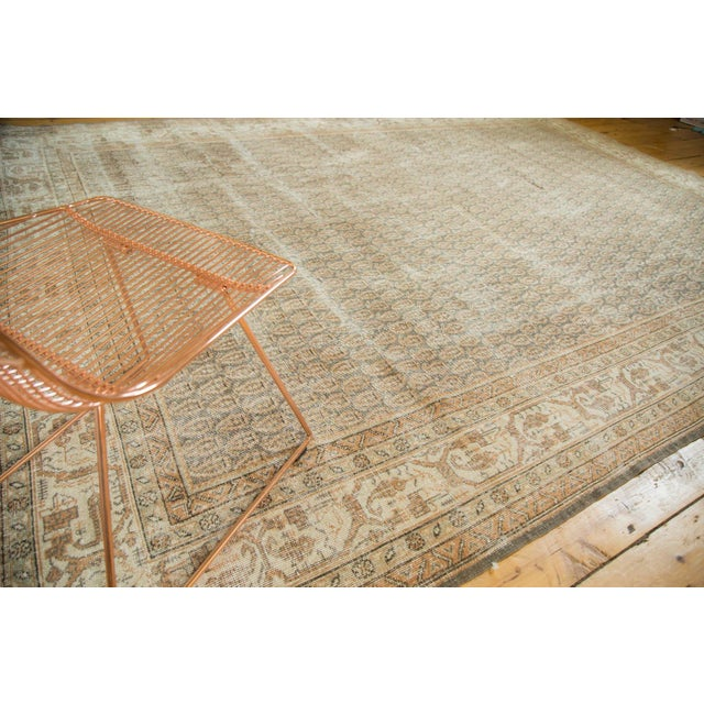 "Vintage Distressed Oushak Carpet - 8'11"" x 12'6"" - Image 3 of 10"