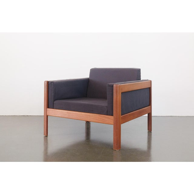 Danish Modern Upholstered Teak Chairs - a Pair For Sale - Image 4 of 10