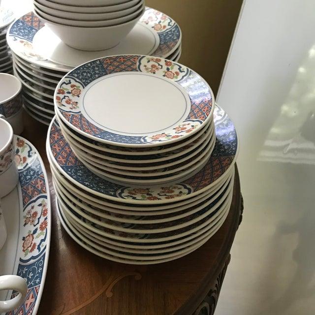 1970s Vintage Noritake Progression Ming Garden Dinnerware - 54 Piece Set,reduced Final For Sale - Image 5 of 11