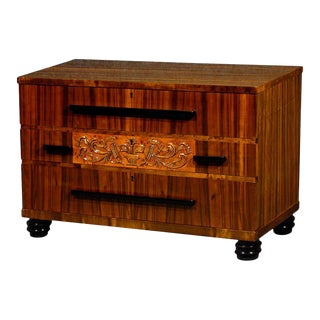 Swedish Art Deco Rosewood Chest of Drawers/Commode For Sale