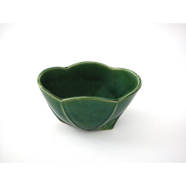 McCoy Green Pottery Vase - Image 3 of 10