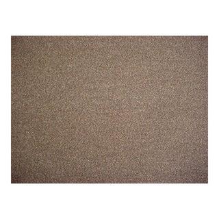 Holland & Sherry Brunswick Mocha Wool Boucle Upholstery Fabric - 7 1/8 Yards For Sale