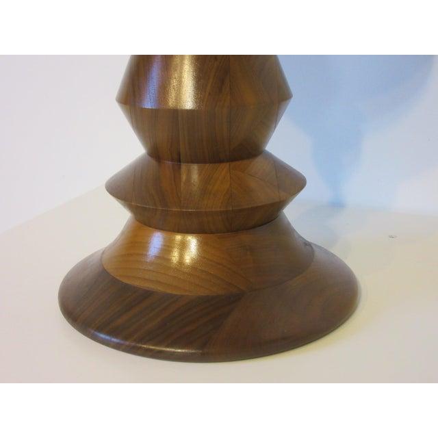 Herman Miller Vintage Eames Walnut Time Life Stool for Herman Miller ( C ) Model For Sale - Image 4 of 9